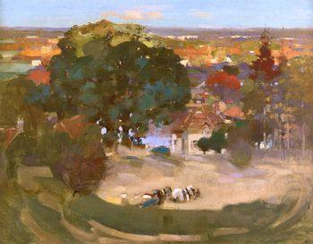 Sandhills Valley | Arthur Melville | oil painting