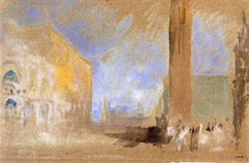 San Marco and the Piazzetta | Joseph Mallord William Turner | oil painting