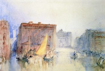 The Accademia from the Grand Canal | Joseph Mallord William Turner | oil painting