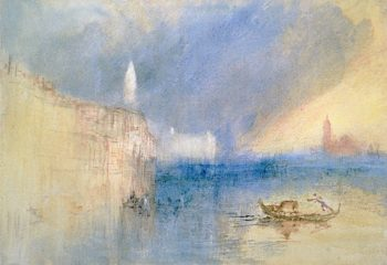 Storm at the Mouth of the Grand Canal | Joseph Mallord William Turner | oil painting