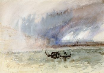 Storm at Venice | Joseph Mallord William Turner | oil painting