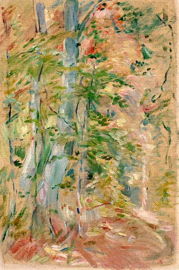 Forest Study | Berthe Morisot | oil painting