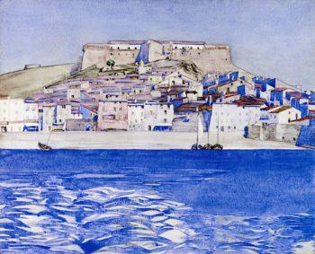 Collioure   Charles Rennie MacKintosh   oil painting