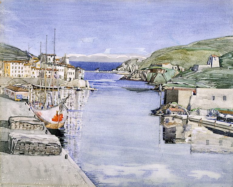 A Southern Port | Charles Rennie MacKintosh | oil painting