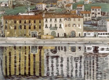 Port Vendres | Charles Rennie MacKintosh | oil painting