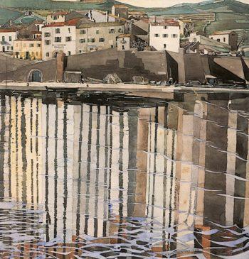 La Rue du Soleil | Charles Rennie MacKintosh | oil painting