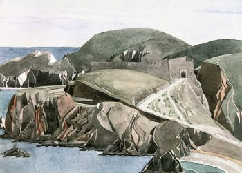The Road through the Rocks | Charles Rennie MacKintosh | oil painting