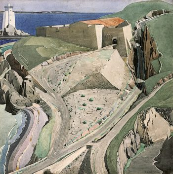The Fort | Charles Rennie MacKintosh | oil painting