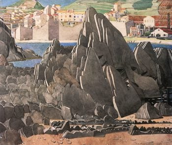 The Rock | Charles Rennie MacKintosh | oil painting