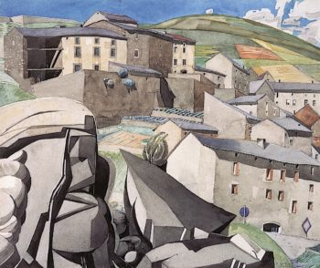 The Boulders | Charles Rennie MacKintosh | oil painting