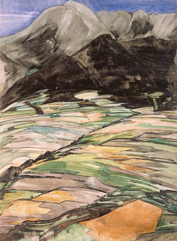 Mountain Landscape | Charles Rennie MacKintosh | oil painting