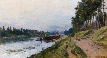 Puteaux near Paris | Albert Lebourg | oil painting