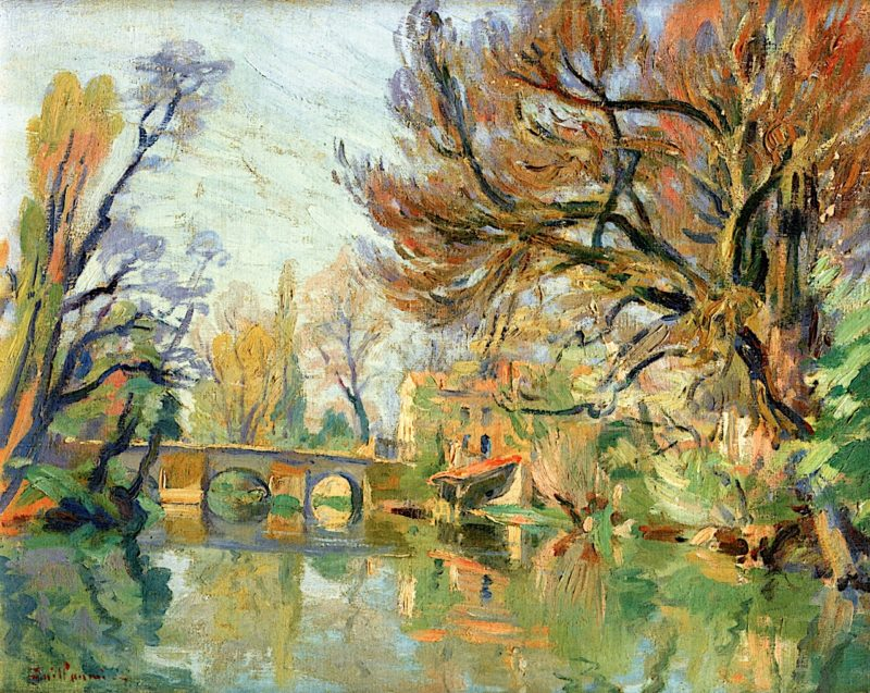 Banks of the Seine   Armand Guillaumin   oil painting