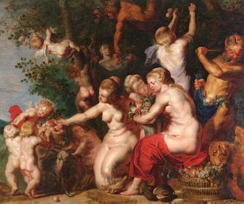 Homage to Pomona | Jacob Jordaens | oil painting