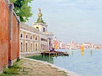 Canal in Venice | Charles Warren Eaton | oil painting