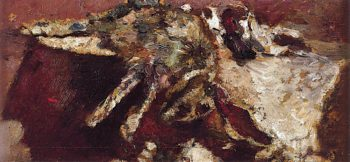 Dead Hare | Adolphe-Joseph-Thomas Monticelli | oil painting