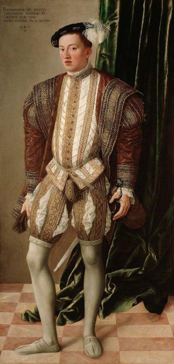 Erzherzog Ferdinand von Tirol | Jacob Seisenegger | oil painting