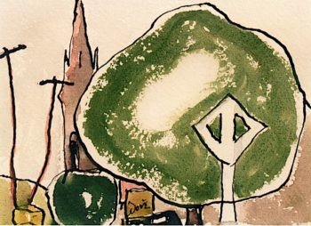 St. Peters | Arthur Dove | oil painting