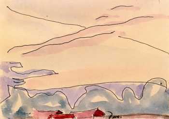 Morning Star   Arthur Dove   oil painting