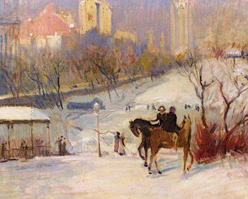 Horseback Riders in Central Park
