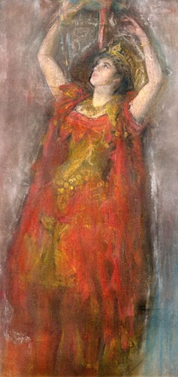 The Dancer | Arthur B. Davies | oil painting