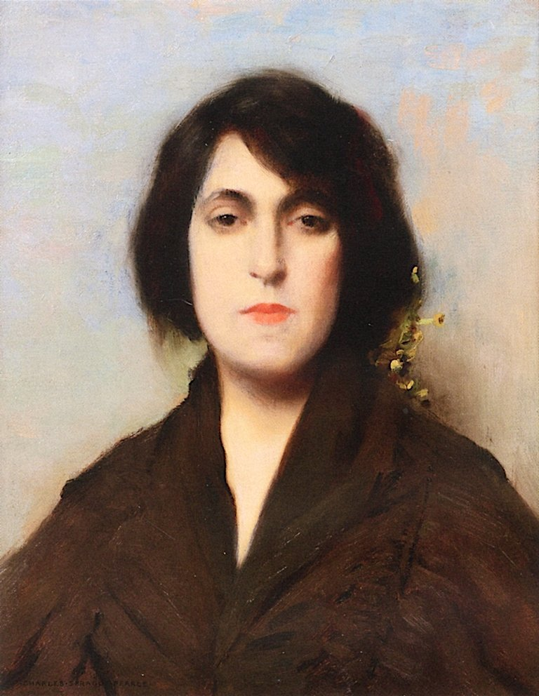 Bohemian Woman | Charles Sprague Pearce | oil painting