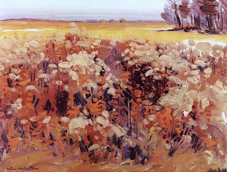 Flowering Fields | Arthur Wesley Dow | oil painting
