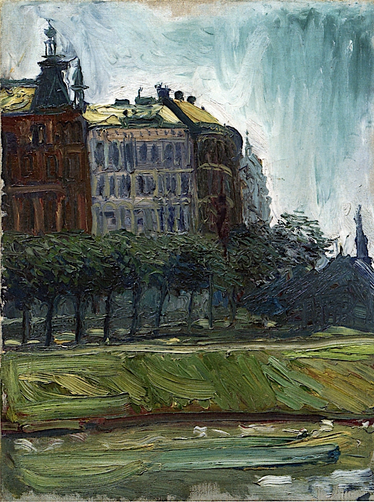 On the Danube Canal | Richard Gerstl | oil painting
