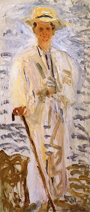 Portrait of Alexander von Zemlinsky | Richard Gerstl | oil painting