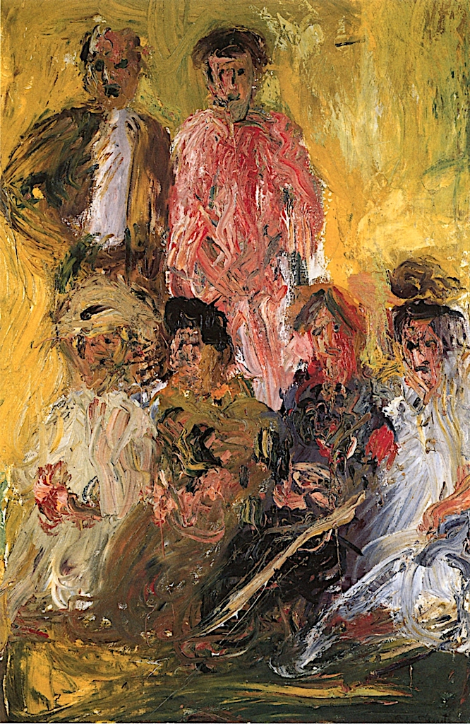Group Portrait with Schöberg | Richard Gerstl | oil painting
