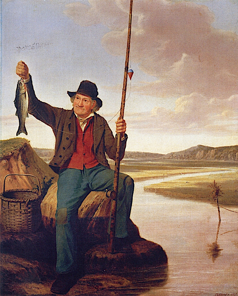 The Happy Moment   James Goodwyn Clonney   oil painting