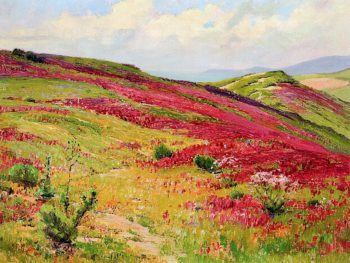 Radiant Spring | Anna Althea Hills | oil painting