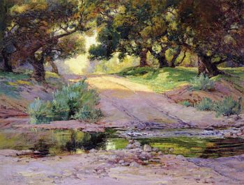 Lure of the Road | Anna Althea Hills | oil painting