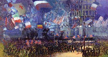 Armistice Night | George Luks | oil painting