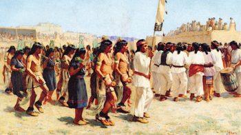 The Harvest Dance | Joseph Henry Sharp | oil painting