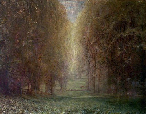 Autumn   Arthur Lowe   oil painting