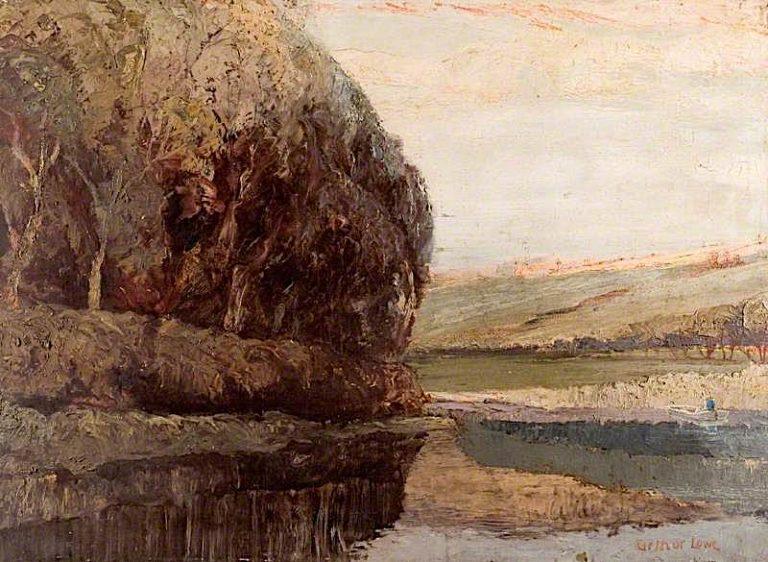 Evening | Arthur Lowe | oil painting