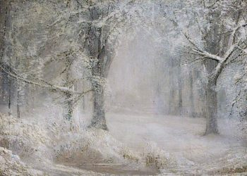 Snow | Arthur Lowe | oil painting