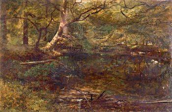 Kingfishers Haunt | Robert Tonge | oil painting