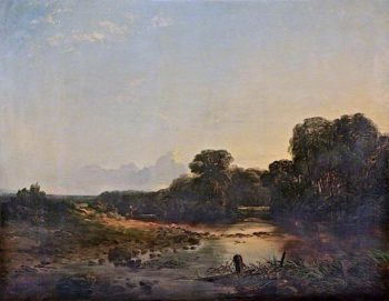 Landscape   Robert Tonge   oil painting