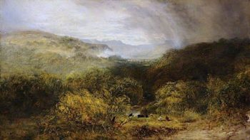 Vale of Llangollen | Robert Tonge | oil painting