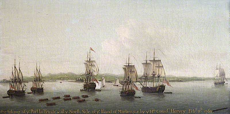 The Capture of Martinique
