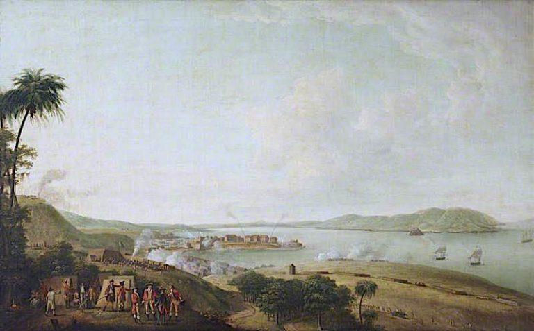 British Attack on the Citadel of Martinique