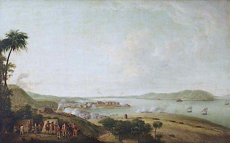 British Attack on the Citadel of Martinique