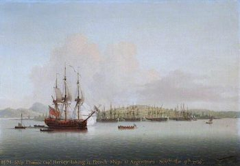 Captain Augustus John Hervey in the Phoenix