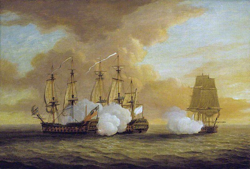 Action between HMS Lion