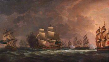 The Moonlight Battle -  the Battle off Cape St Vincent