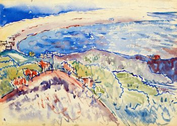 From Mount Gilboa | Charles Demuth | oil painting
