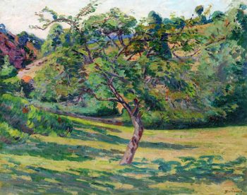 Landscape of he Creuse | Armand Guillaumin | oil painting
