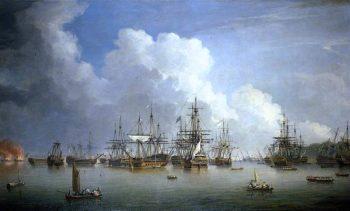 The Captured Spanish Fleet at Havana